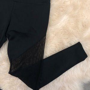 Onzie Pants - Onzie Mesh Leg Legging